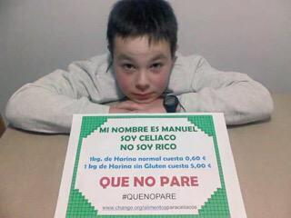 SOY CELIACO, NO SOY RICO